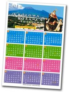 W najnowszym numerze znajdziesz różańcowy kalendarz