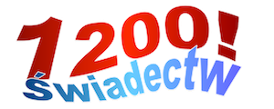 1200 świadectw