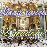 Msza św. Pompejańska w grudniu