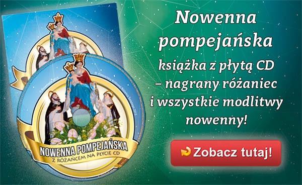 Nowenna pompejańska z różańcem na CD