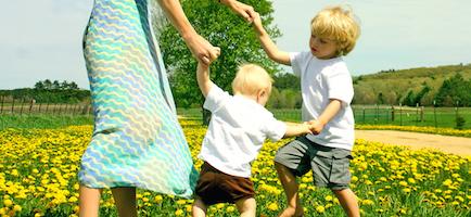 Magda: Moje dziecko pięknie chodzi