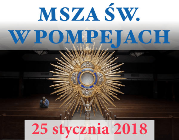 MSZA 25 STYCZNIA 2018