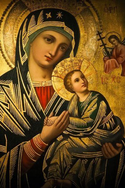 Lucyna: Maryja jest z nami